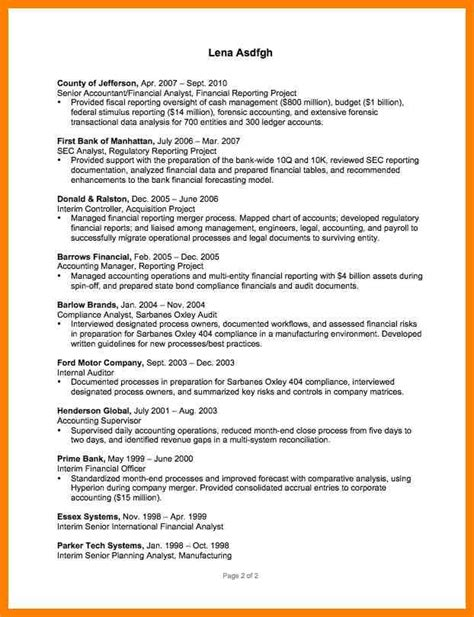 Reconciliation Analyst Cover Letter by 4 Reconciliation Letter Format Cfo Cover Letter