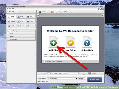 convert epub format to word how to convert word to epub with document converter 4 steps