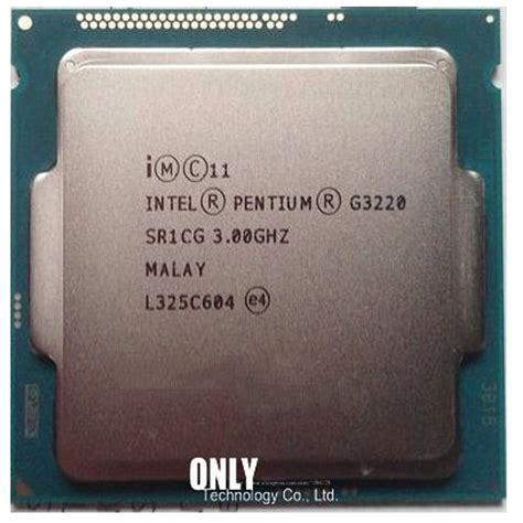 Cpu Lenovo Destop Dual Seri G3220 Haswel Soket 1150 buy intel pentium g3220 haswell lga 1150 dual 3 0ghz l3 cache 3m hd graphics desktop cpu