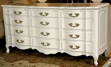 12 drawer dresser white white 12 drawer triple dresser with marble top at 1stdibs