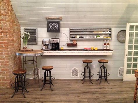 Magnolia Farms Bar Stools by Must This Coffee Bar It Joanna Gaines S