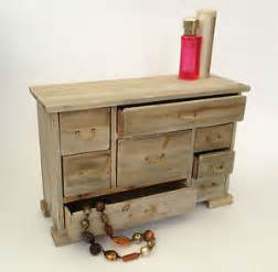 small wooden storage chest 8 drawers shabby vintage