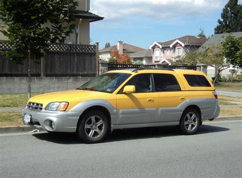 subaru baja cohort outtake subaru baja the cab ranchero