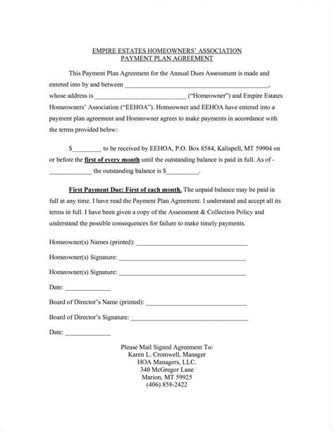 founders agreement template startup image result for payment plan contract agreement template