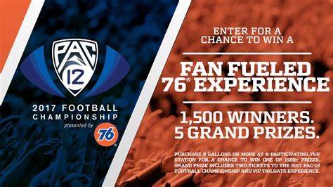 Football Sweepstakes 2017 - football season is finally here so is the pac 12 football chionship sweepstakes