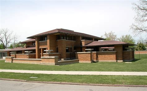 frank lloyd wright prairie style images of the darwin martin house complex designed by
