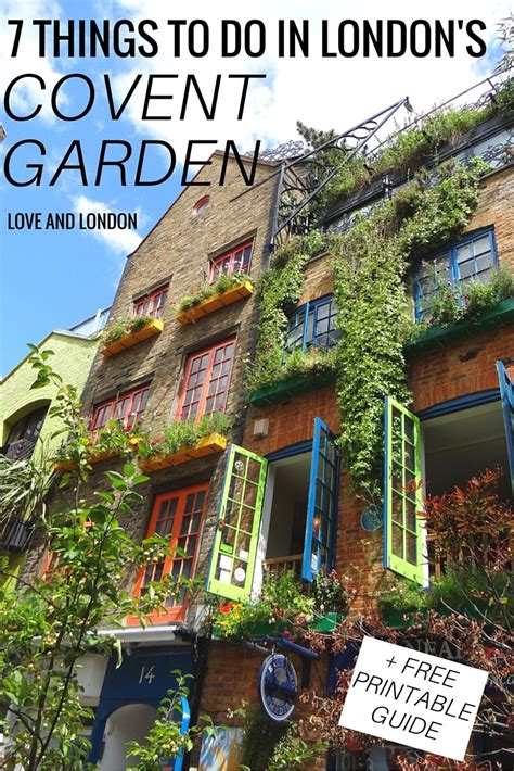 7 Places To Visit At Time by 7 Things To Do In S Covent Garden And