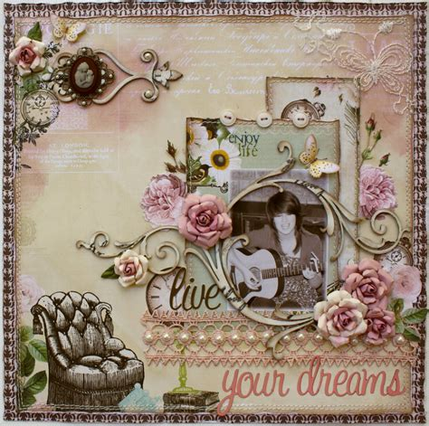 scrapbook page tutorial such a pretty mess rose creations tutorial 2 websters