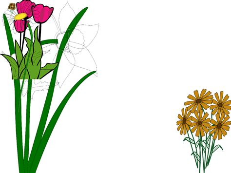 Flower Garden Pictures Clip Art 55 Flower Garden Clipart
