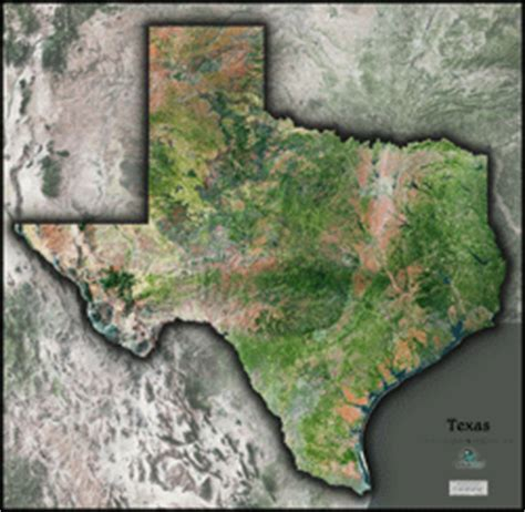 satellite maps of texas texas satellite wall map by outlook maps