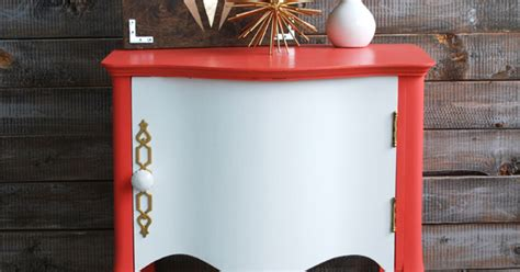 Craigslist Youngstown Furniture by Coral White Painted Stunning Side Table Hometalk