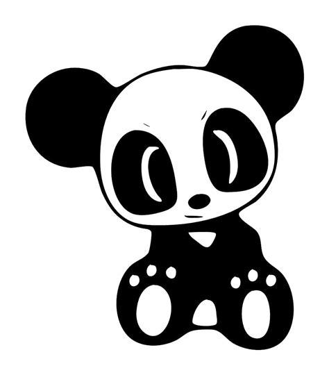 Sticker Panda ainme panda laptop car truck vinyl decal window sticker