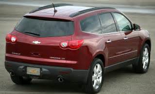 2008 Chevrolet Traverse Car And Driver