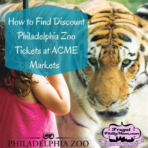 discount vouchers zoo deal discount philadelphia zoo tickets are available at