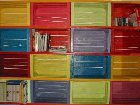 cassette da frutta 20 idee per costruire una libreria fai da te