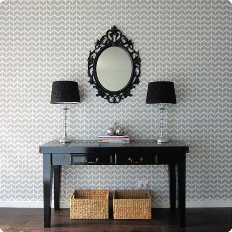 removable wallpaper herringbone wallpaper wallpaper rooftop tales one small house at a time