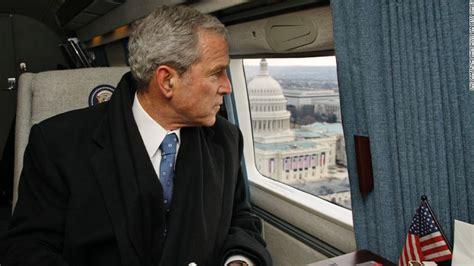 biography of george washington bush fleischer george w bush didn t mean to criticize obama