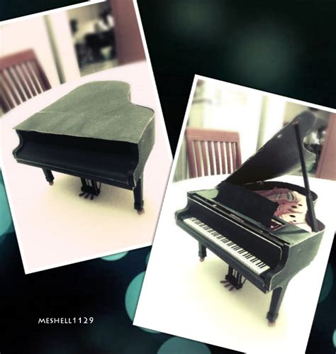 Papercraft Piano - grand piano papercraft by meshell1129 on deviantart