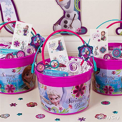 Frozen Party Giveaways - frozen party ideas party city