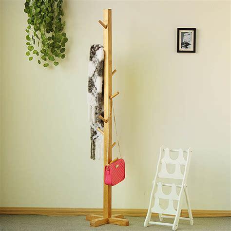 living room coat rack wooden clothes tree hanger rack