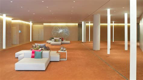 design house barcelona lighting lobby sofas floor to ceiling lighting w hotel