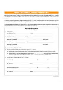 Car Settlement Agreement Letter 10 Best Images Of Settlement Agreement Template Car Settlement Agreement