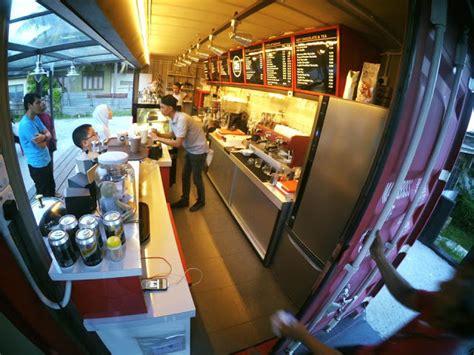 Qawa Coffee Kuala Terengganu cubamakan qawa coffee kafe kontena trendy terengganu