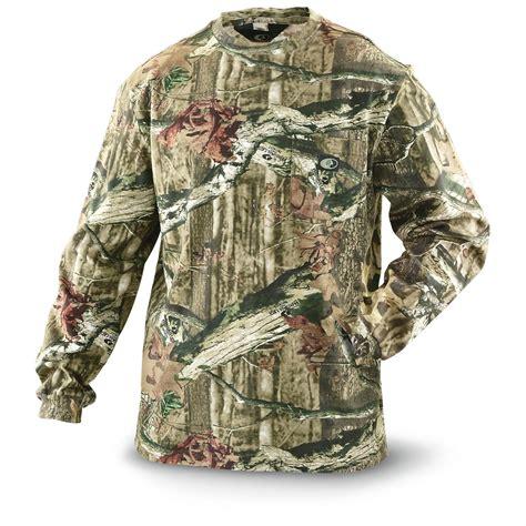mossy oak clothing for mossy oak 174 camo t shirt sleeved 297334 camo