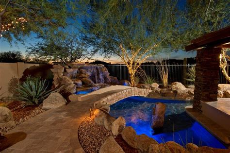 mediterranean backyard landscaping ideas travertine pool deck pool mediterranean with backyard