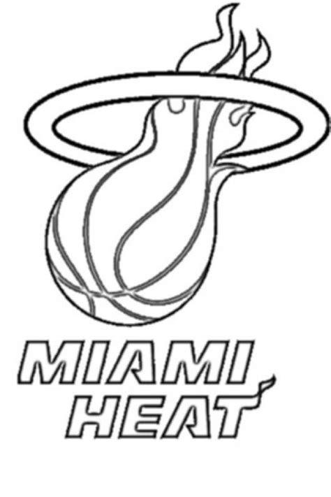 imagenes de miami heat para descargar miami heat logo coloring page colorear dibujos de cholo