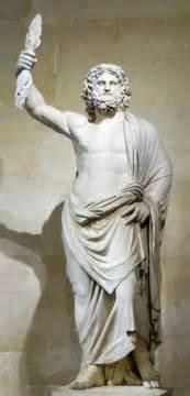 Greek God Statue Zeus Jupiter Greek God King Of The Gods And Men