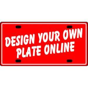 Custom Aluminum Vanity Plates Aluminum Custom License Plates Design