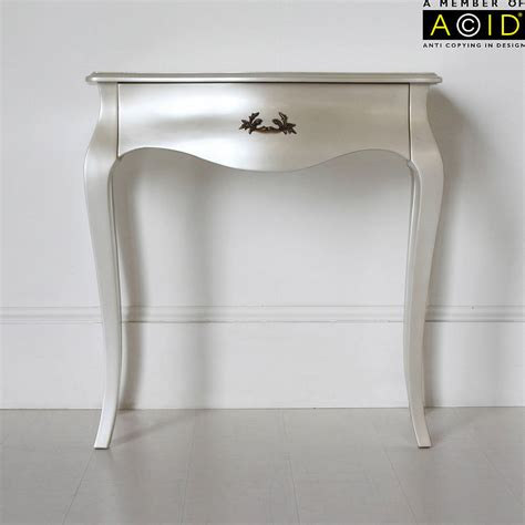 small console table for curvy small console or dressing table by out there