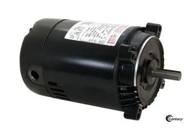 start capacitor for 1hp motor k1100 century 1 hp jet motor 115 230 vac 3450 rpm 56c frame keyed shaft rotation
