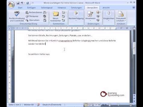 youtube tutorial on microsoft word microsoft word tutorial deutsch rechtschreibpr 252 fung youtube