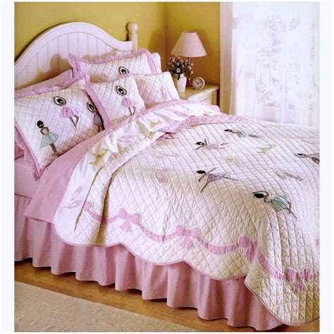 ballerina bedding ethnic ballerina quilt bedding set for girls