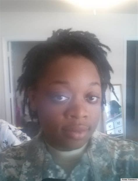 Why Do Black Women Have to Look Like White Women to Serve Their Country?   HuffPost