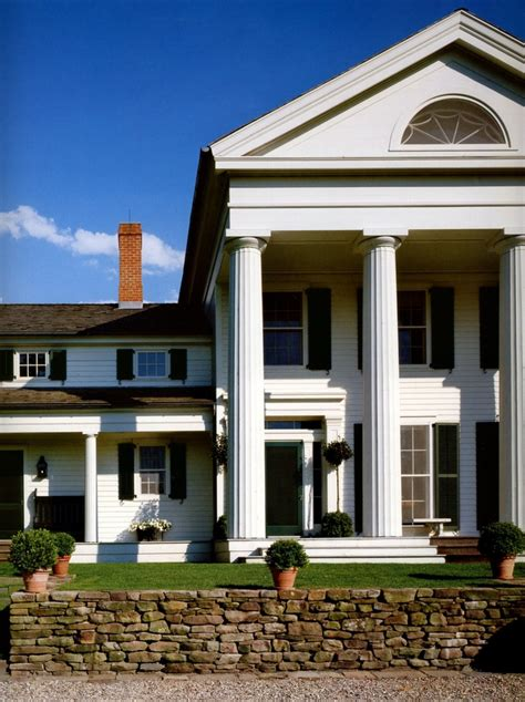 greek revival architecture in illinois architect gil schafer s greek revival country house