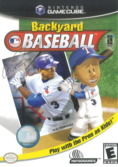 Backyard Baseball Nintendo Gamecube Rom Backyard Baseball For Gamecube 2003 Mobygames