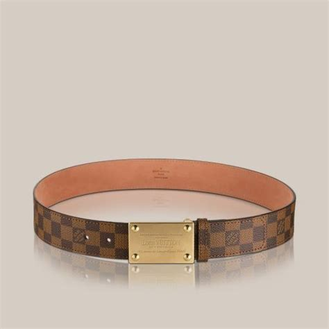 Jual Belt Lv Ebene Brown Leather Buckle Brown Mirror Qu Limited 24 best images about belts on initials louis