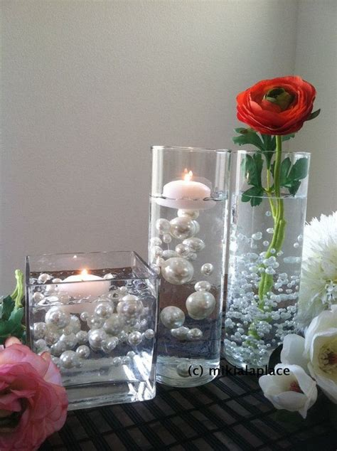 vase fillers for wedding centerpieces best 25 water centerpiece ideas on