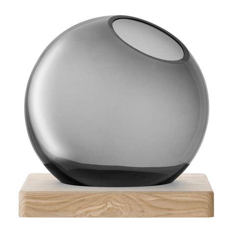 Base 1 Grey lsa international axis vase ash base grey octer 163 63 00
