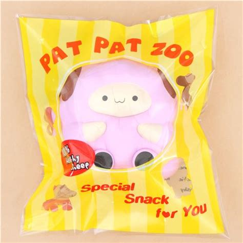 purple jumbo pop pop sheep by pat pat zoo squishy animal
