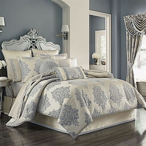 cream queen comforter sets j queen new york dante comforter set in cream bed bath