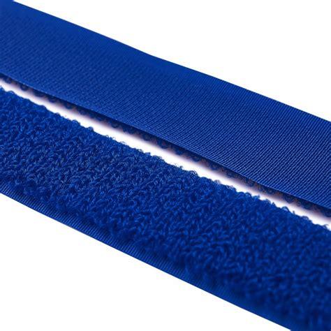 Velcro The velcro fleece side royal blue activefabrics net