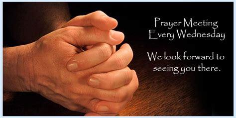 Sle Invitation For Prayer Meeting Bible Fellowship Church Camden Delaware