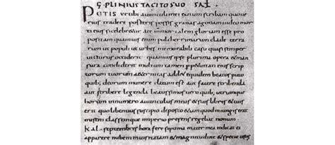 lettere di plinio il giovane plinio il giovane scrittore e senatore romano pompeiin