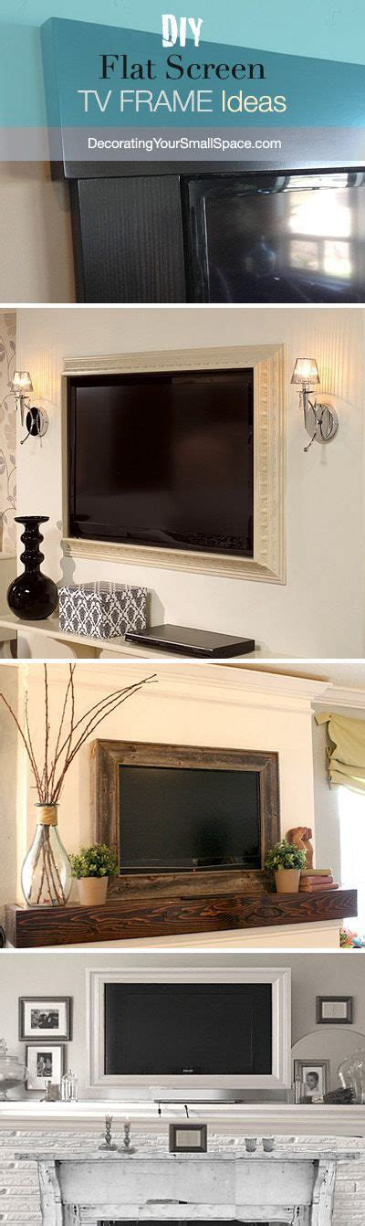 bed frame with tv inside diy tv frame disguise that flat screen home decorating diy