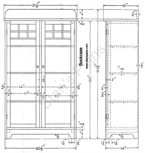 how to build bookcase plans free pdf plans