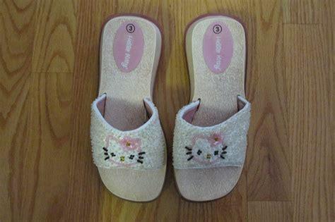 Sandal Wedges Spon Hello Dn19 Pink 1 hello s size 3 shoes white iridescent pink sequins sandals slides